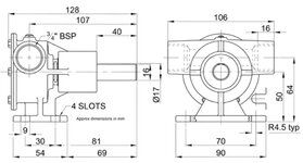 Jabsco 52040 (cooling water pump)