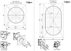 ALFA 20T bedieningspaneel (Craftsman Marine)