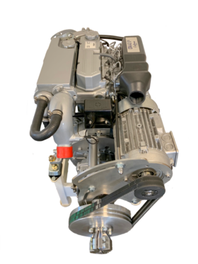Hybrid drive for boats - 4 kW