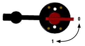 Accuschakelaar 100A - DD.050.21100 (Craftsman Marine)