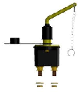 Accuschakelaar 250A - DD.050.21250 (Craftsman Marine)