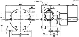 Jabsco 50320-2001 (cooling water pump)