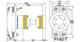 Python Drive P140-T