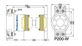 Python Drive P200-W