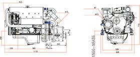 Marine Power Diesel MPD4.85