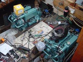 Einbau von Zwei Mitsubishi S4L2 Motoren