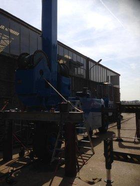 Botenlift installatie