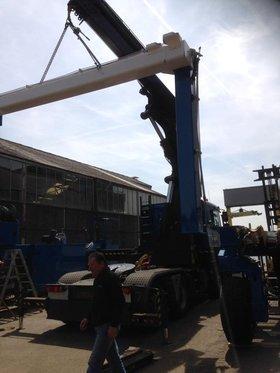 Boat Hoist installation