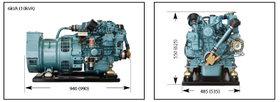 Mitsubishi generator 30 kVa