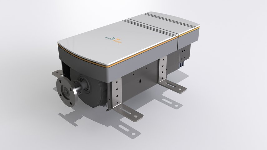 Hybrid drive for boats - 10 kW
