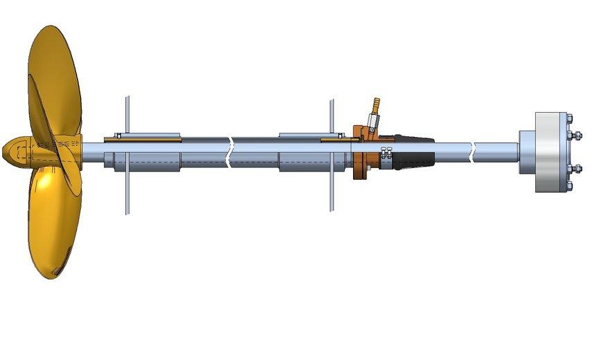 Stainless steel propeller shafts - Drinkwaard Marine