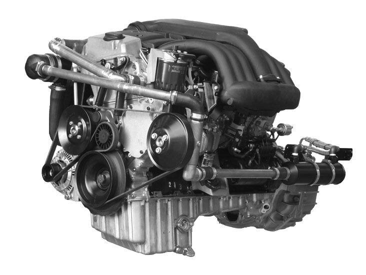 Mercedes OM 602 conversion kit