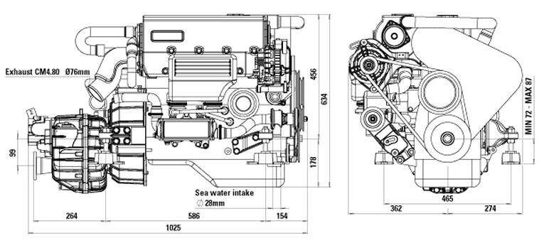 Craftsman Marine 4.80 Engines by specialist Drinkwaard Marine