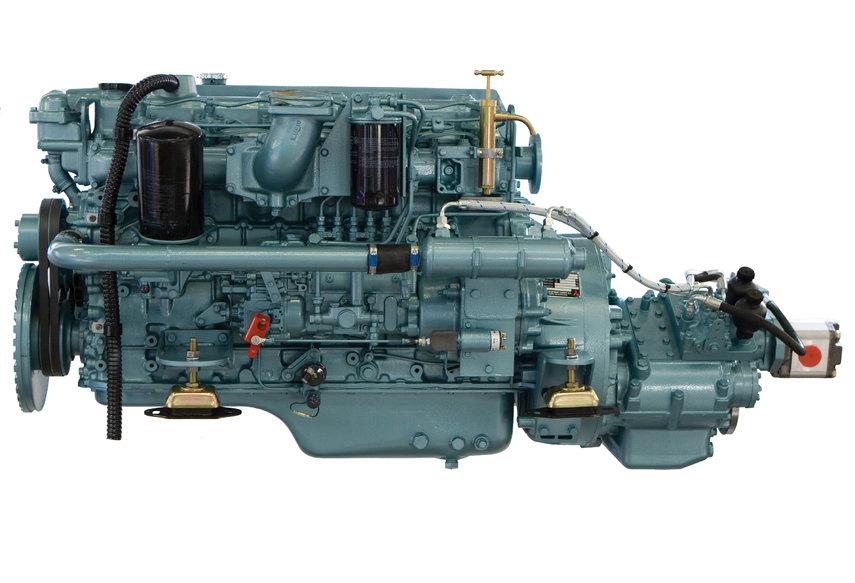 mitsubishi 6d16 marine engine by specialist drinkwaard marine